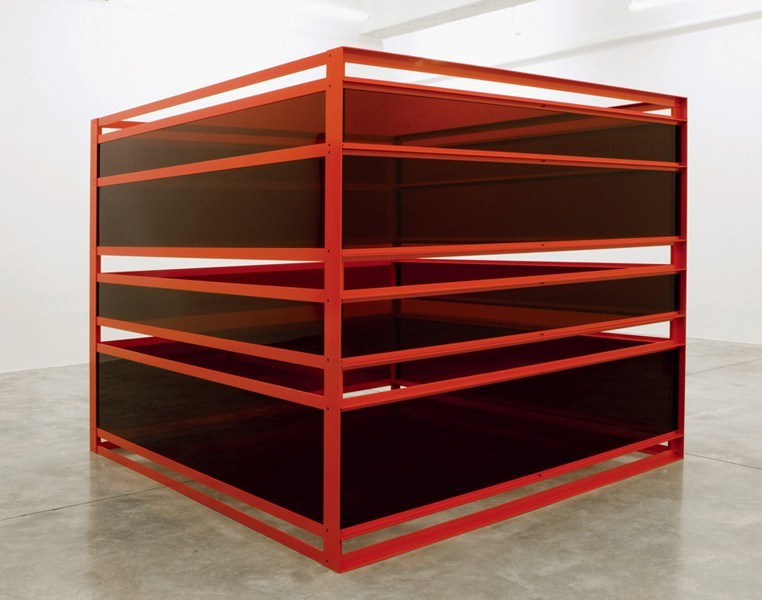 Liam Gillick. Sometimes They Worked in Groups of Three. 2008