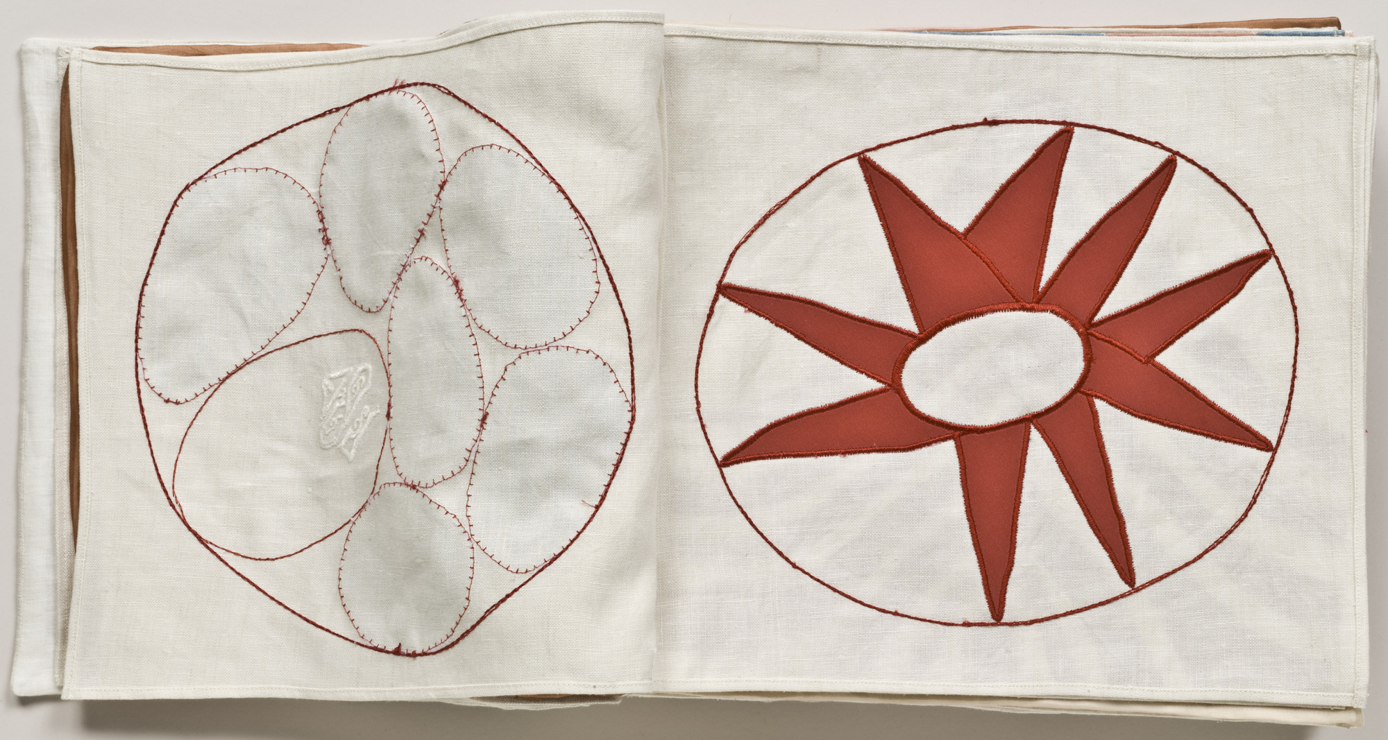 Louise Bourgeois. Untitled, no. 5 of 34, from the illustrated book, Ode à l'Oubli. 2004
