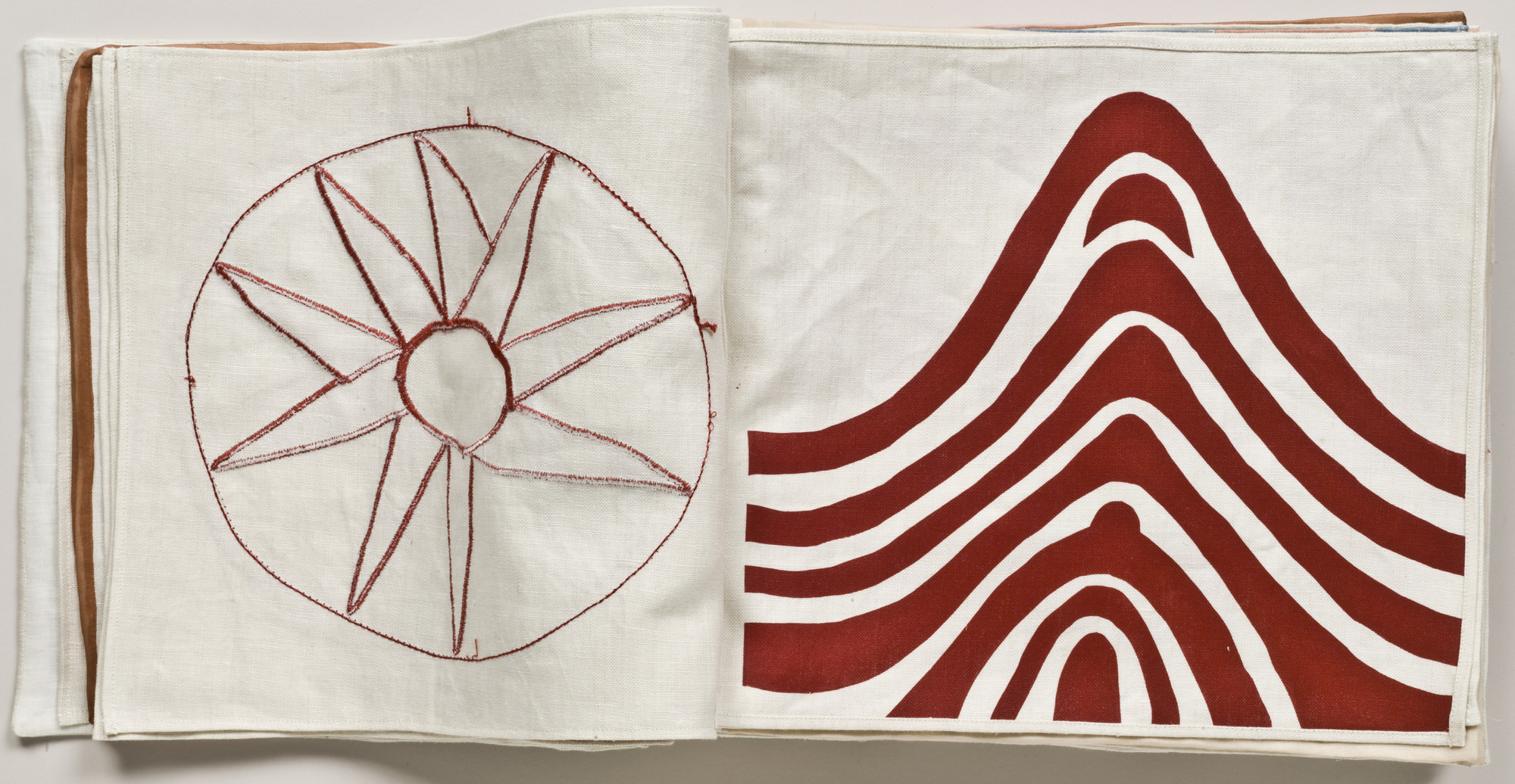 Louise Bourgeois. Untitled, no. 6 of 34, from the illustrated book, Ode à l'Oubli. 2004