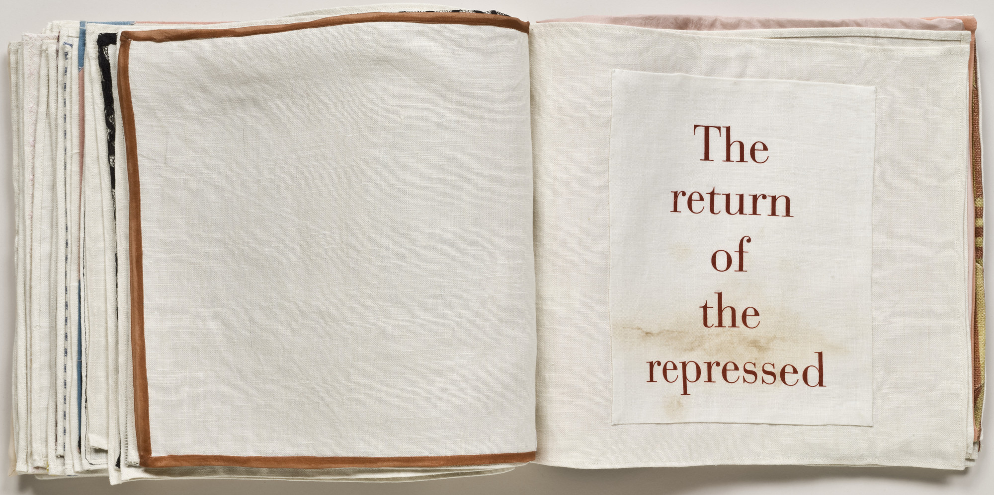 Louise Bourgeois. The Return of the Repressed, no. 28 of 34, from the illustrated book, Ode à l'Oubli. 2004
