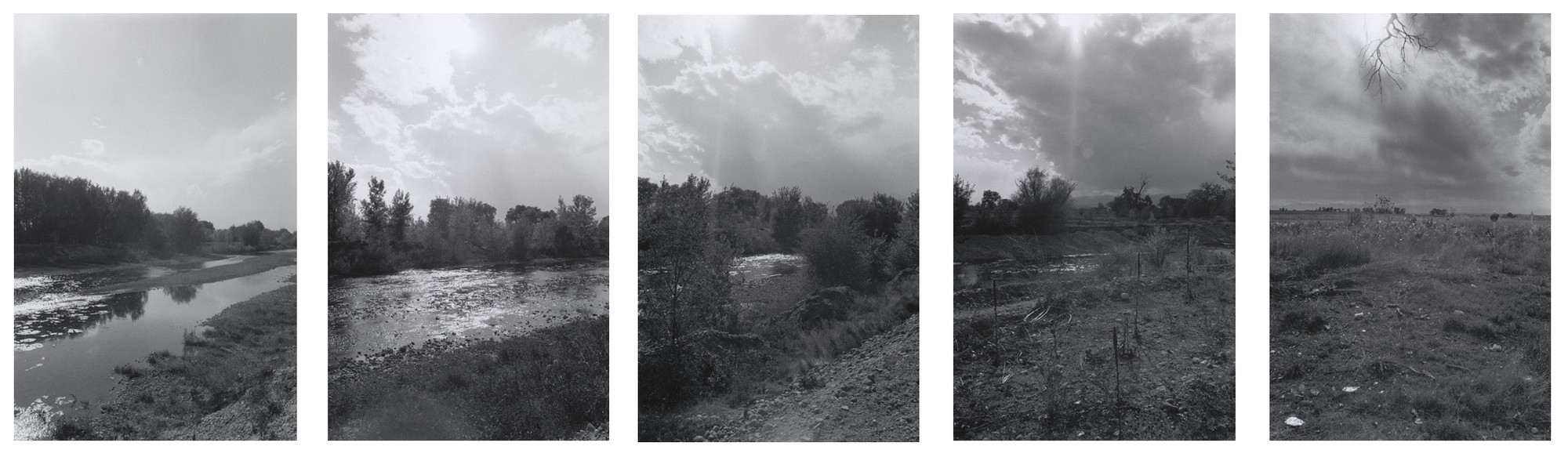 Robert Adams. Along St. Vrain Creek, West of Longmont, Colorado. 1986