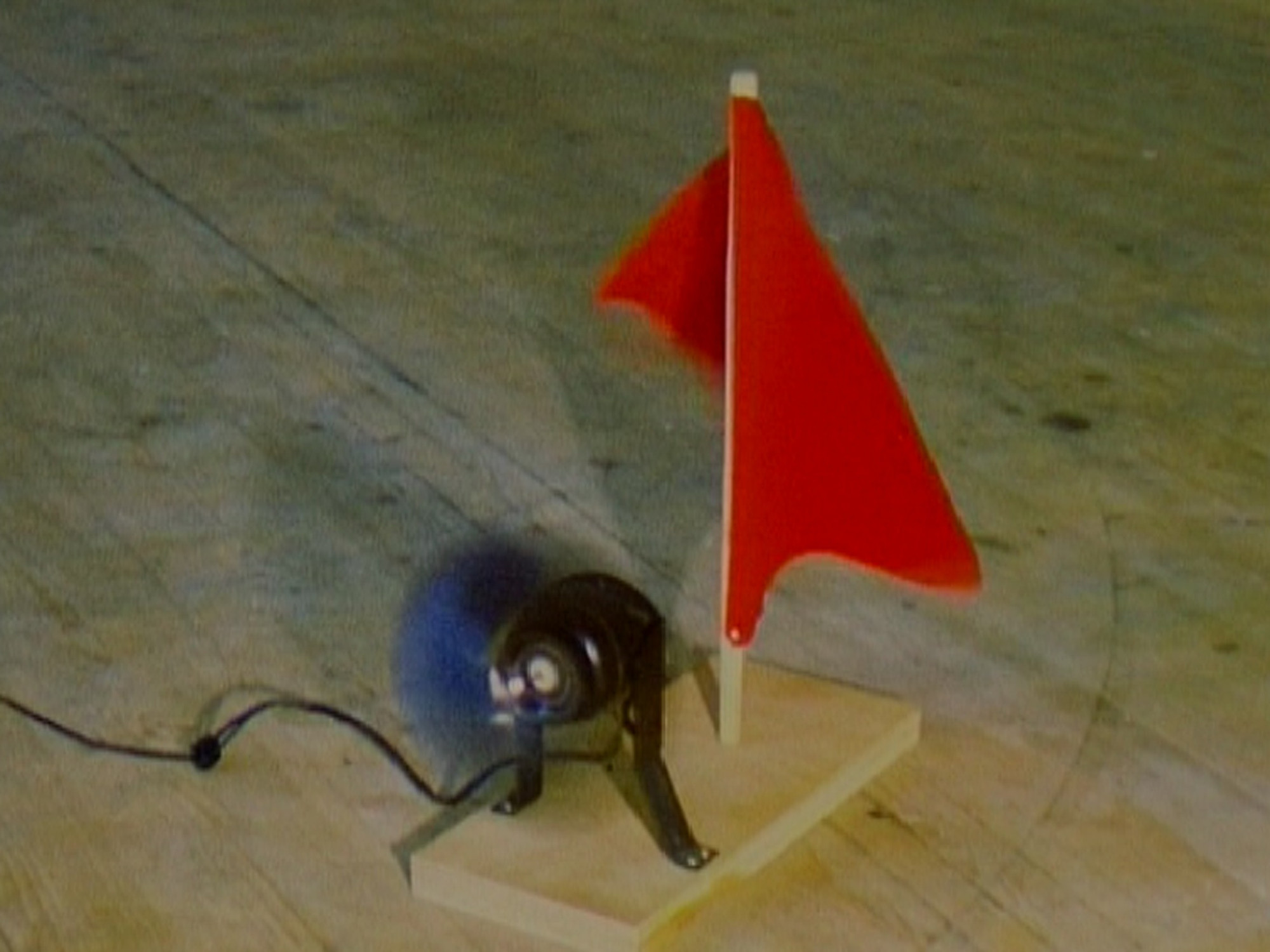 Roman Signer. Red Flag. n/a
