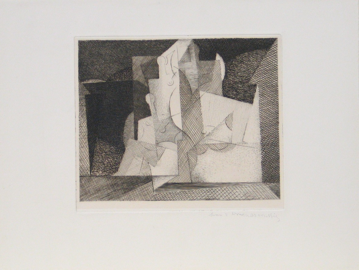 Louis Marcoussis. The Road to Salvation. 1931