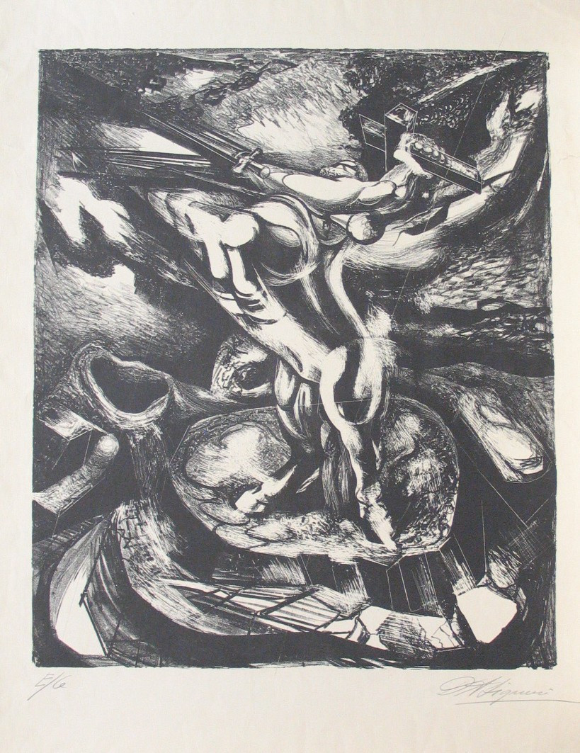David Alfaro Siqueiros. The Centaur of the Conquest. (1944)