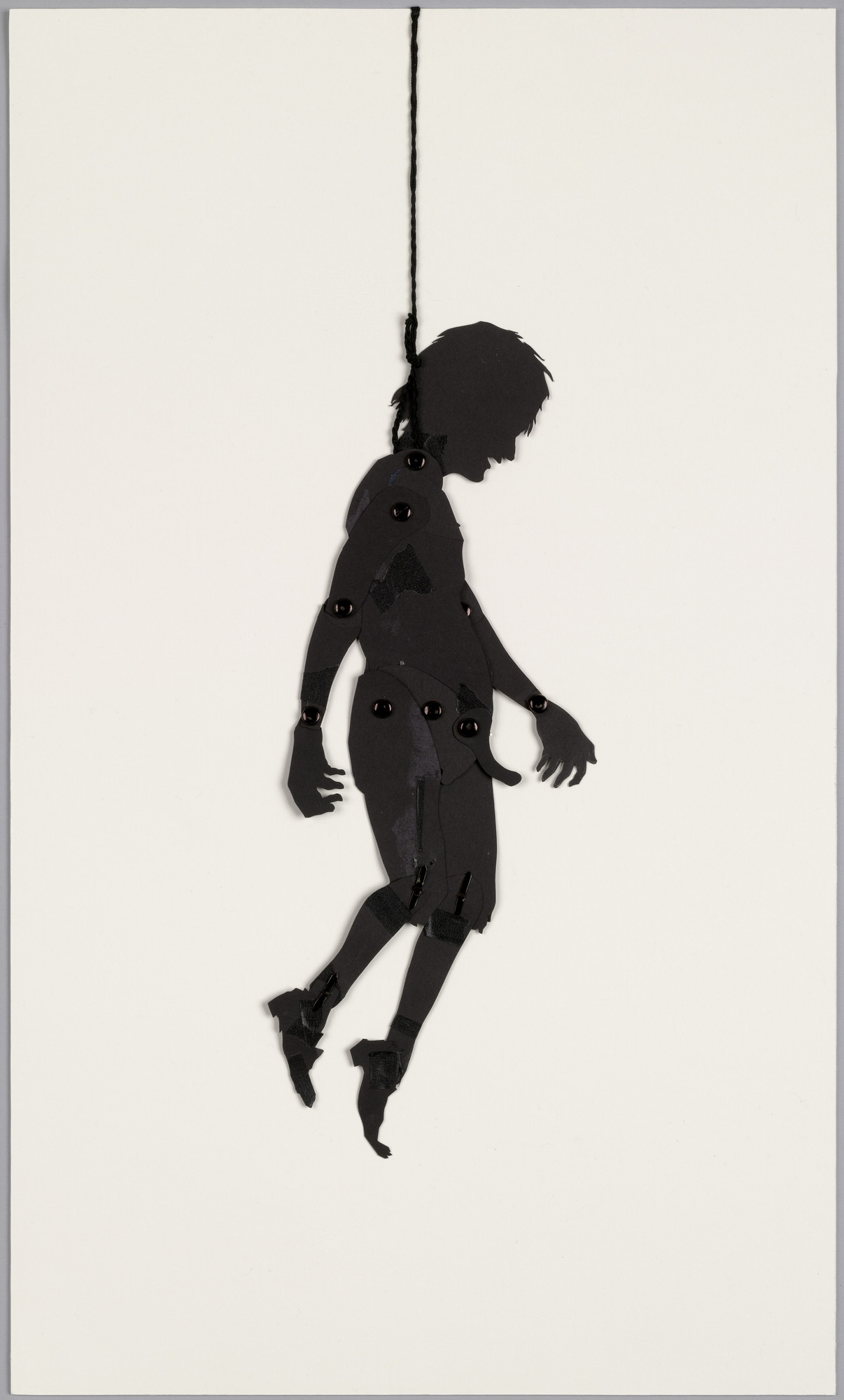 Kara Walker. Shadow puppet from Testimony: Narrative of a Negress Burdened by Good Intentions. 2004