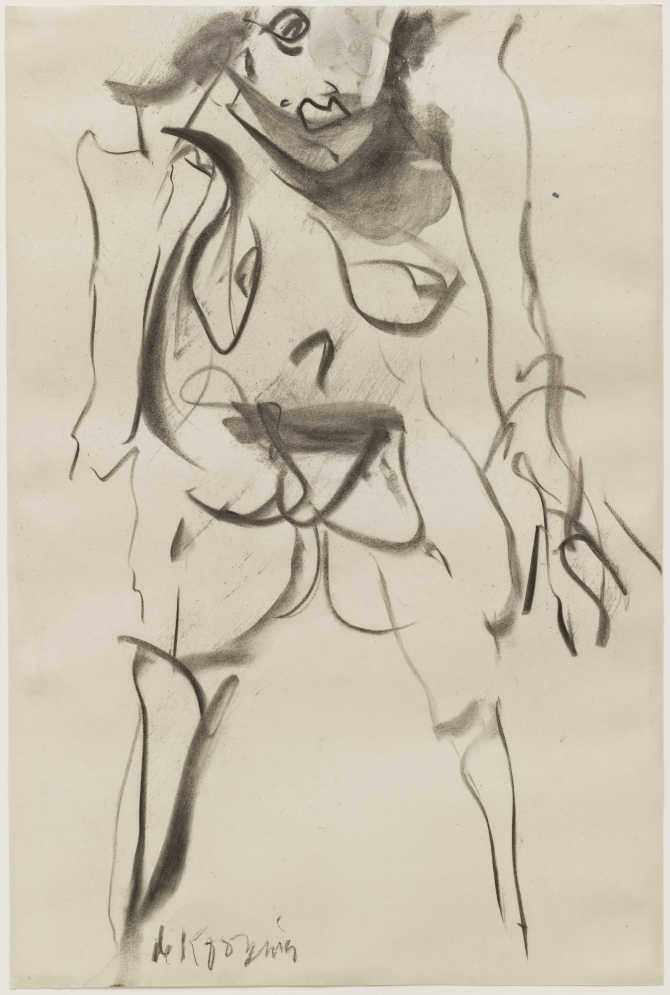 Willem de Kooning. Untitled. (1968)