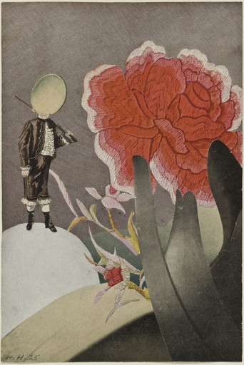 Hannah Höch. Watched. 1925