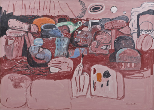 Philip Guston. Deluge II. 1975