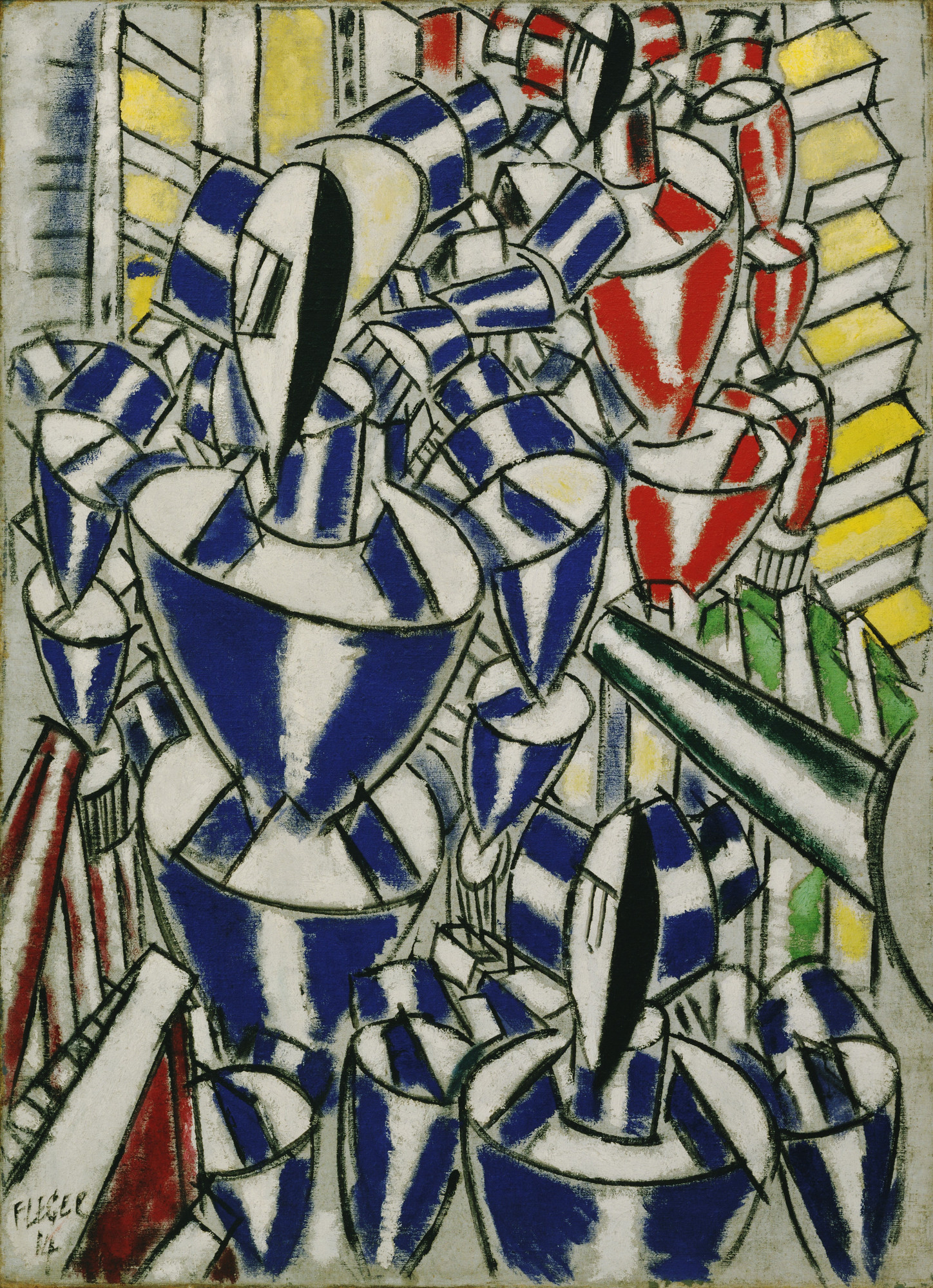 Fernand Léger. Exit the Ballets Russes. 1914