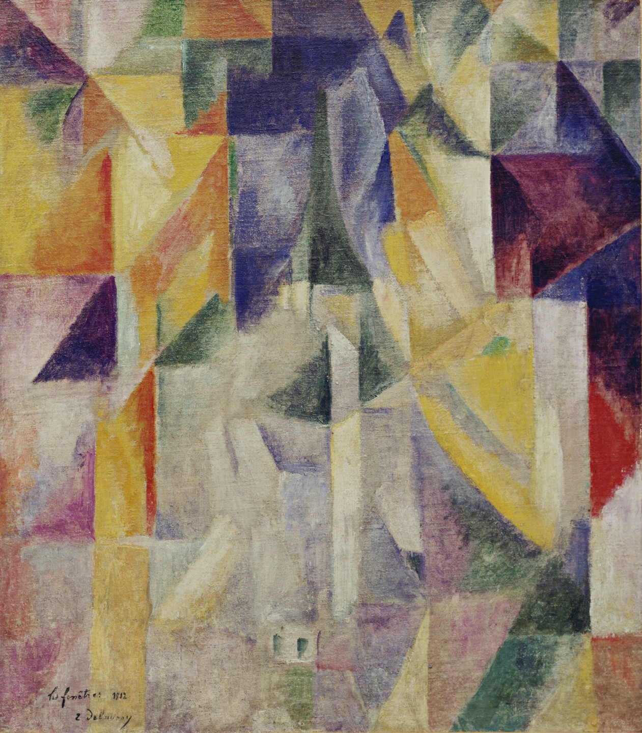 Robert Delaunay. Windows. Paris 1912