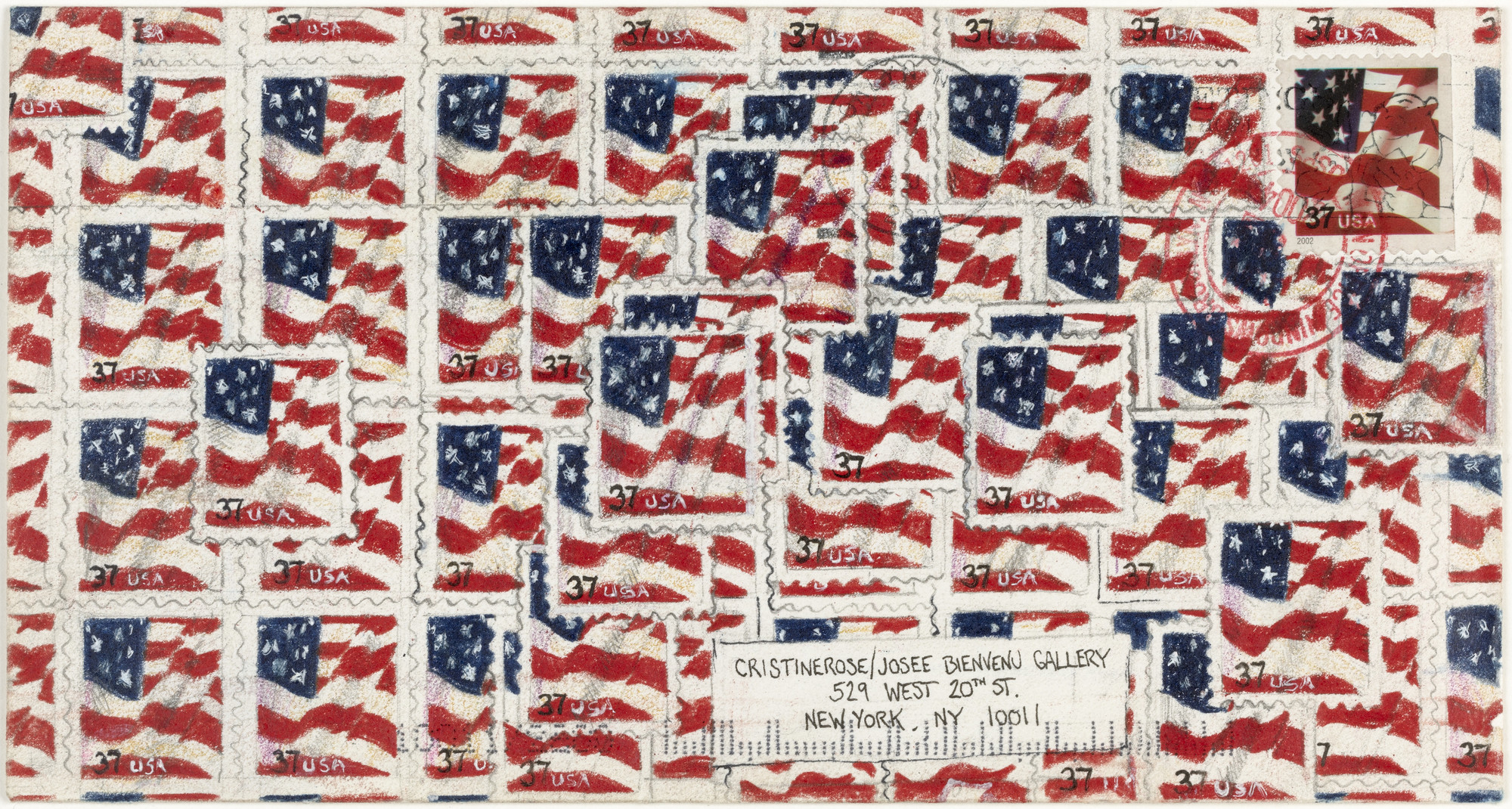 Ken Solomon. Stars and Stripes (I Francobolli). 2004