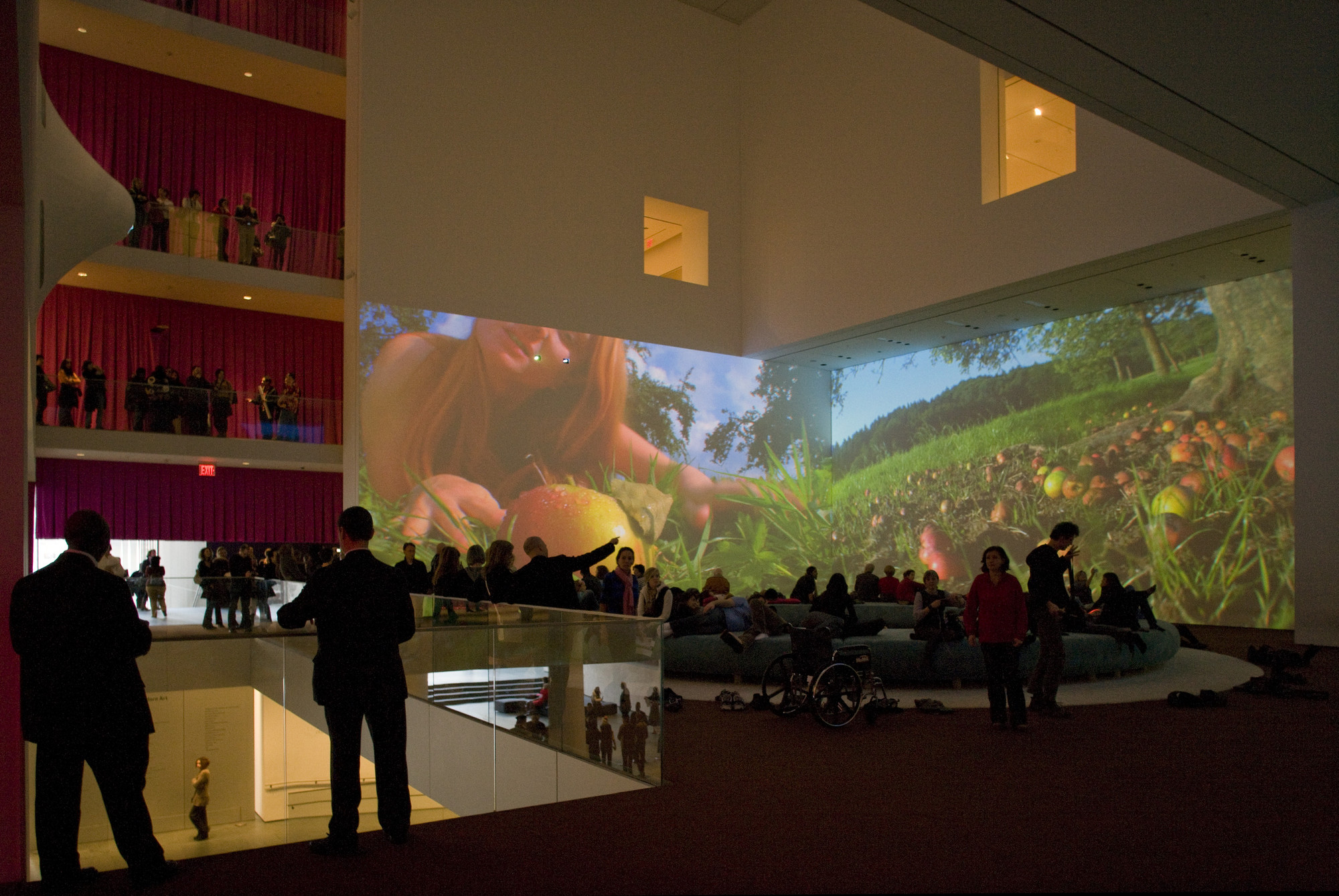 Pipilotti Rist. Pour Your Body Out (7354 Cubic Meters). 2008