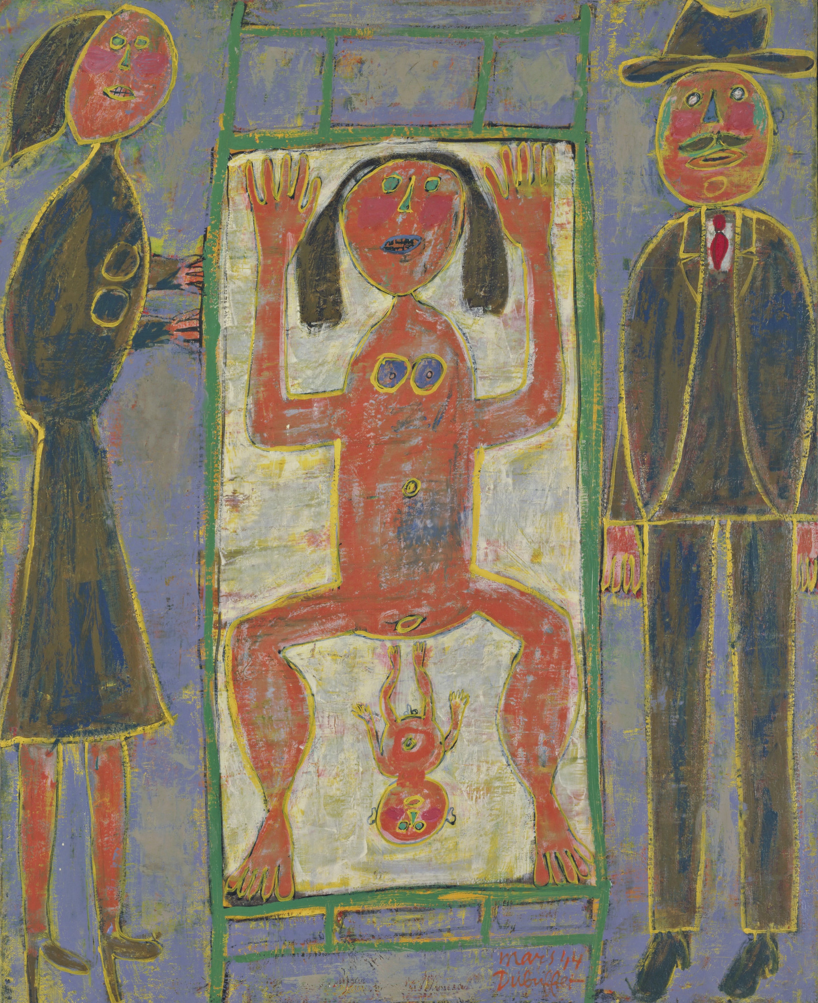 Jean Dubuffet. Childbirth. March 1944