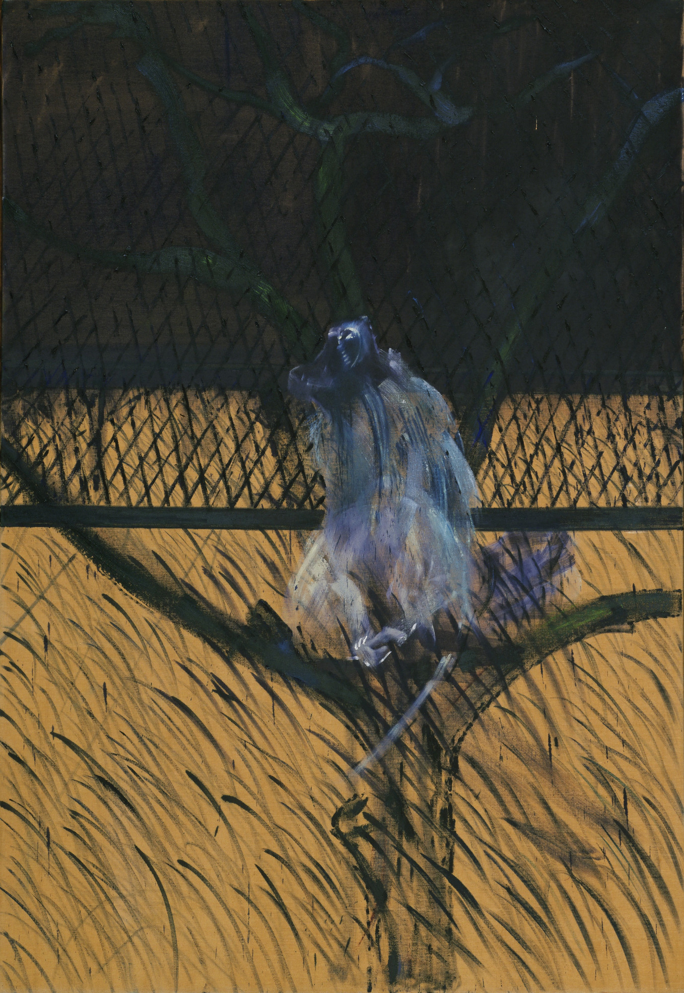 Francis Bacon. Study of a Baboon. 1953