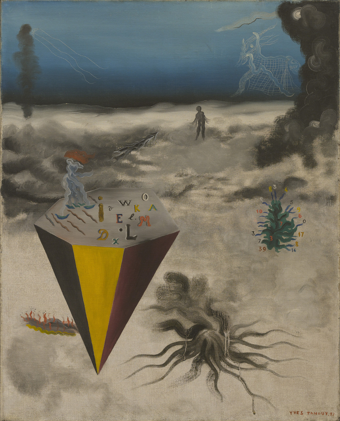 Yves Tanguy. He Did What He Wanted. 1927