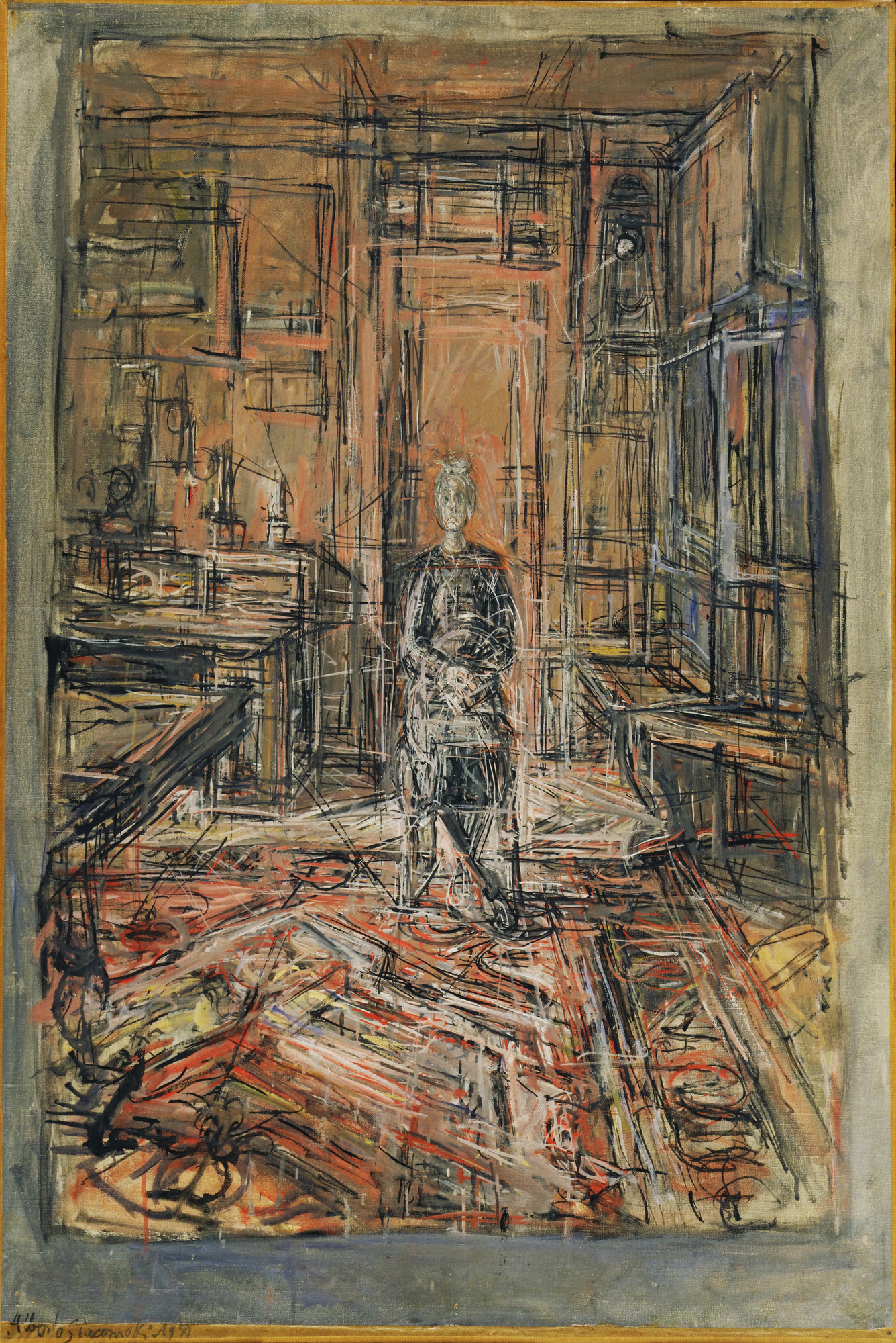 Alberto Giacometti. The Artist's Mother. 1950