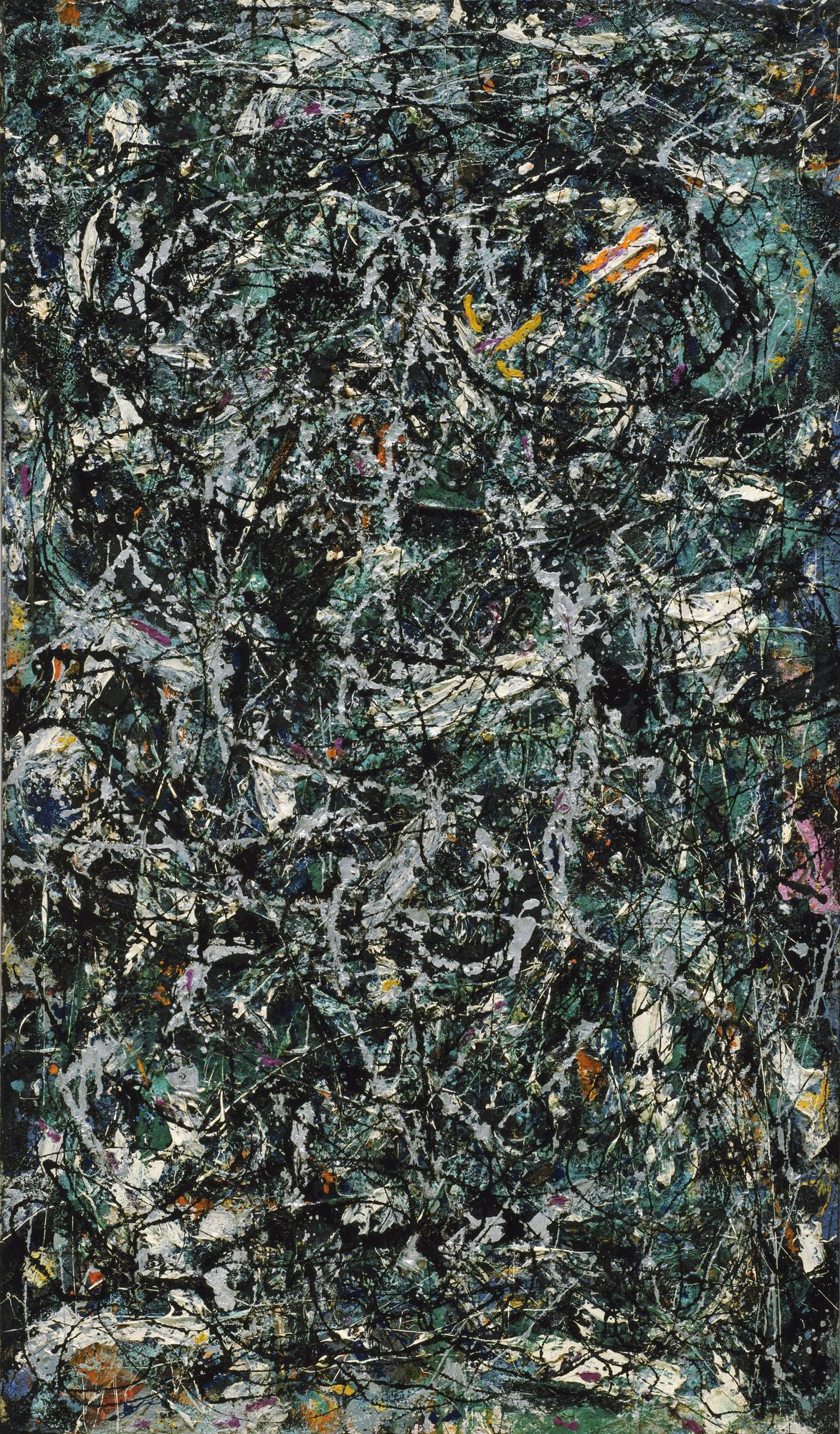 Jackson Pollock Full Fathom Five MoMA - How much is a fathom