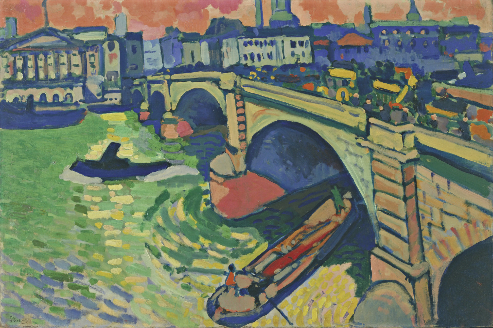 André Derain. London Bridge. London, winter 1906