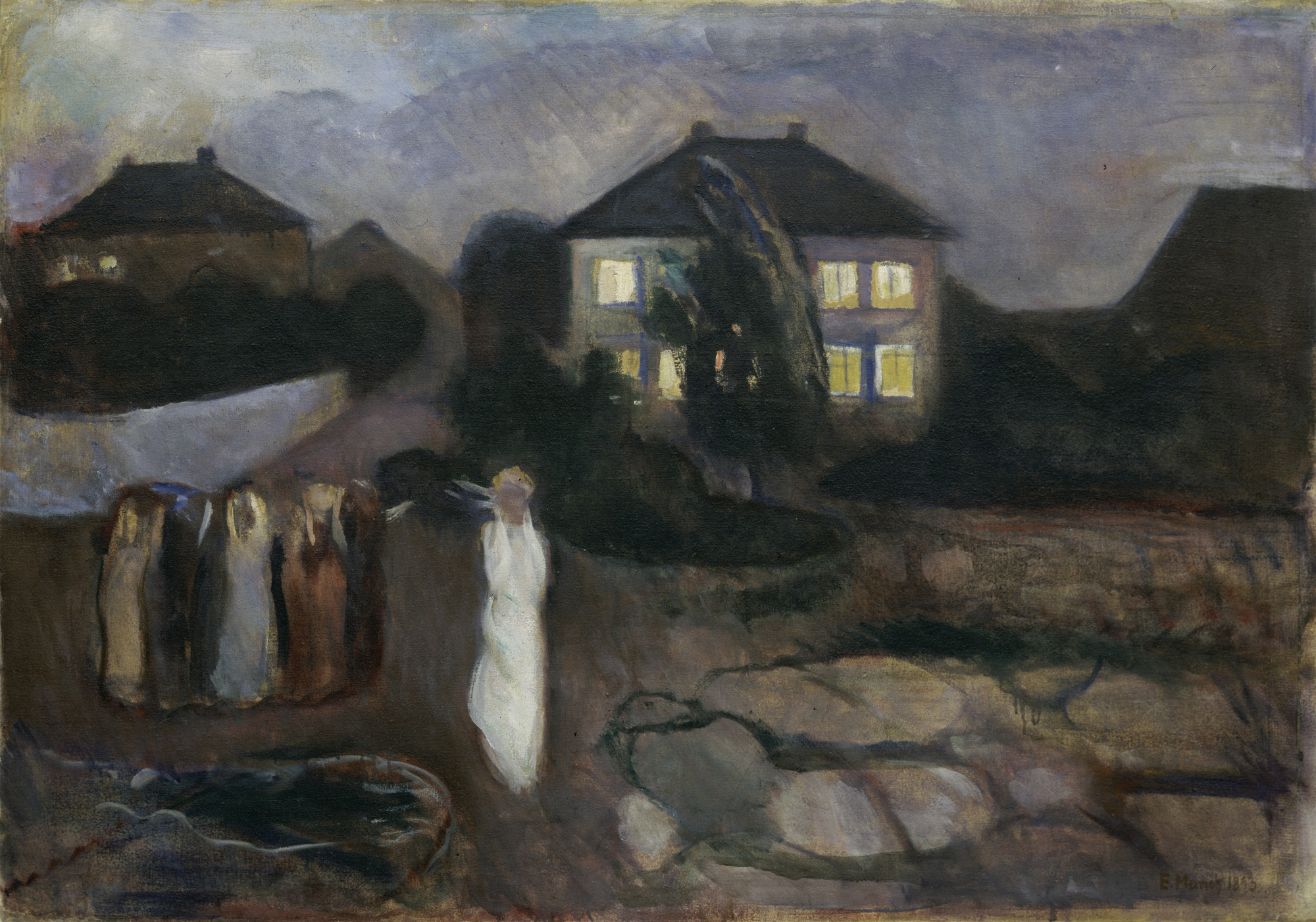 Edvard Munch. The Storm. 1893