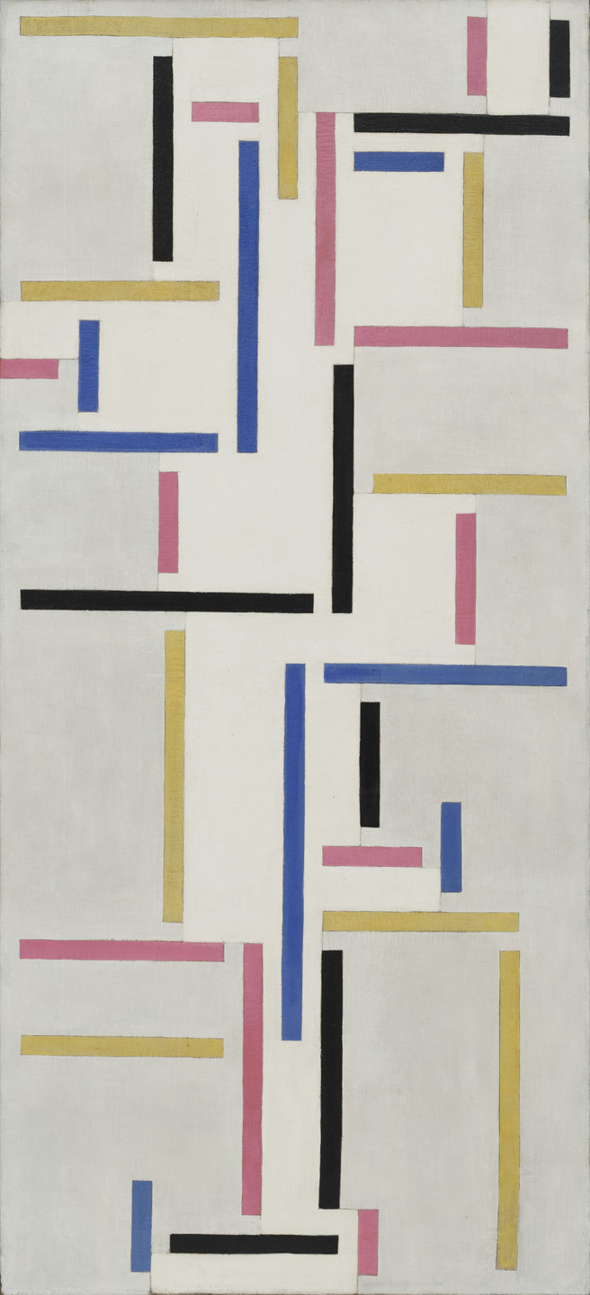 Theo van Doesburg. Rhythm of a Russian Dance. June 1918