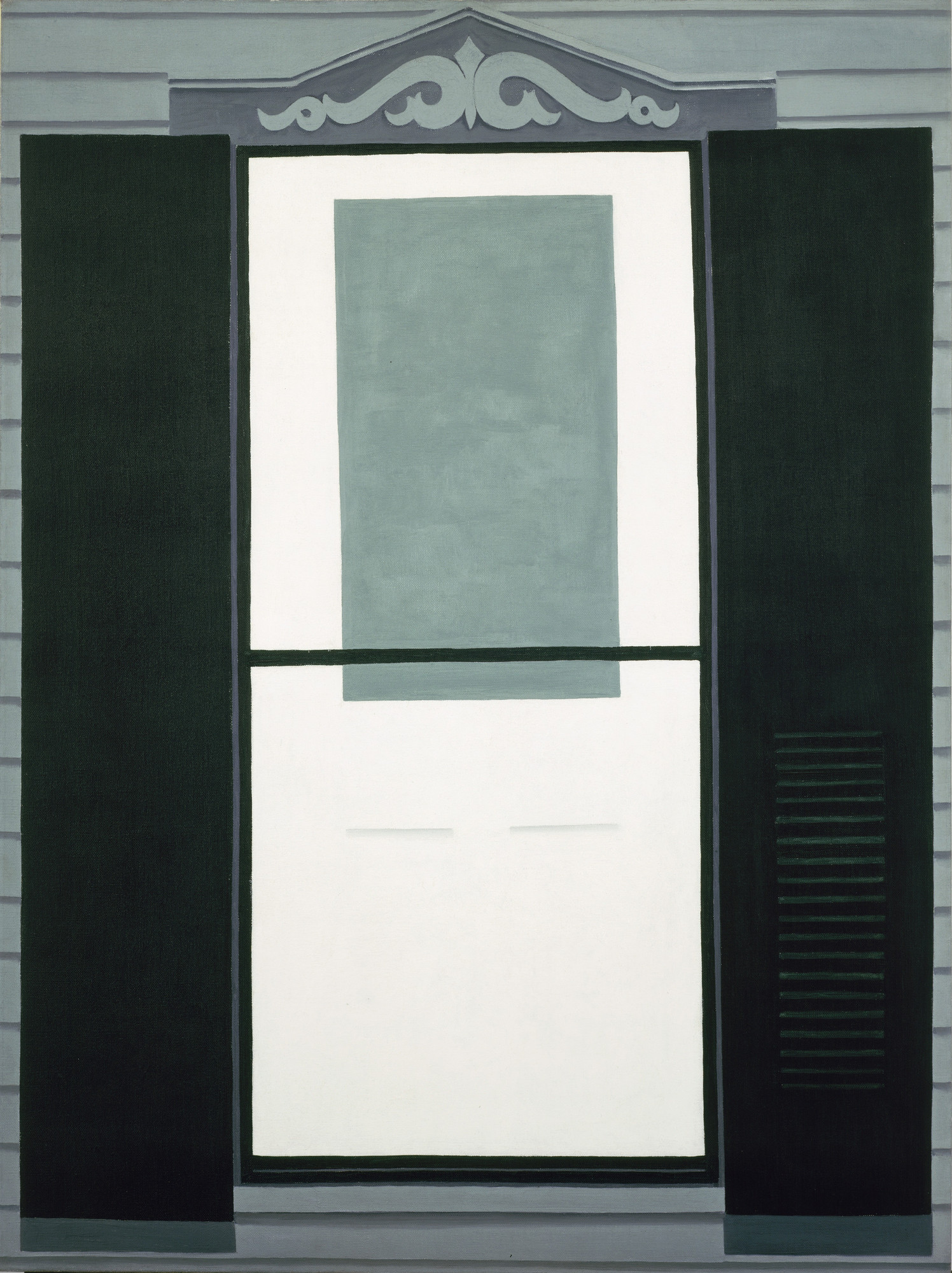 Georgia O'Keeffe. Farmhouse Window and Door. October 1929