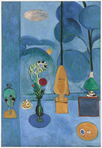 Henri Matisse. The Blue Window. Issy-les-Moulineaux, summer 1913