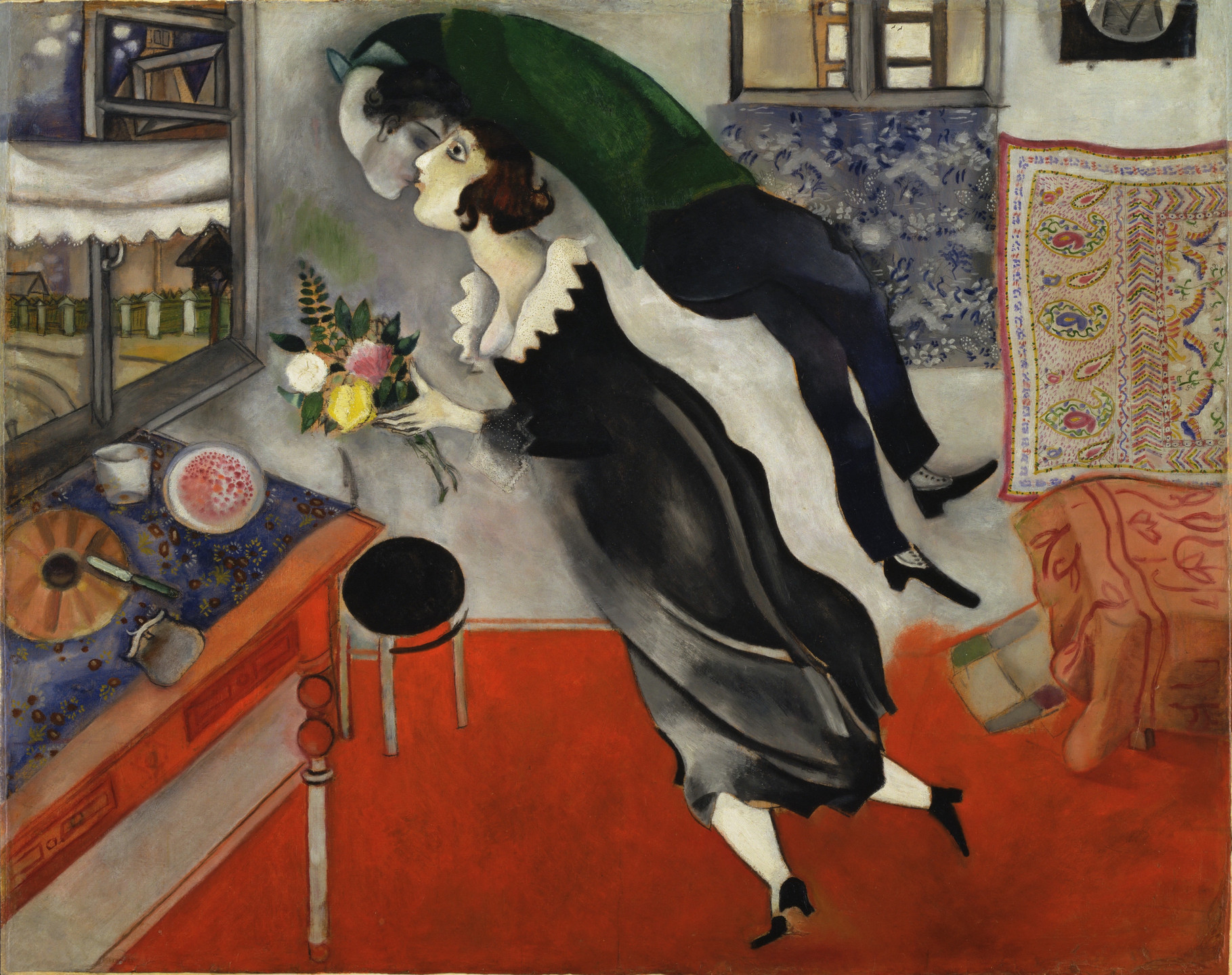 Marc Chagall. Birthday. 1915