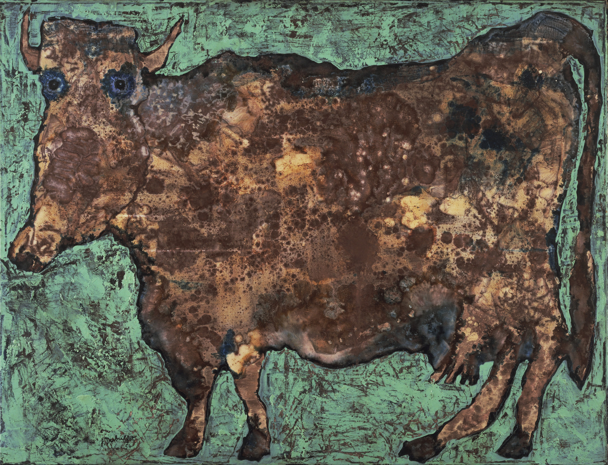 Jean Dubuffet. The Cow with the Subtile Nose. September 1954