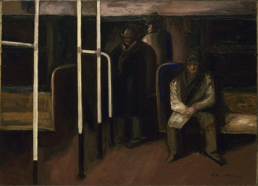 José Clemente Orozco. The Subway. 1928