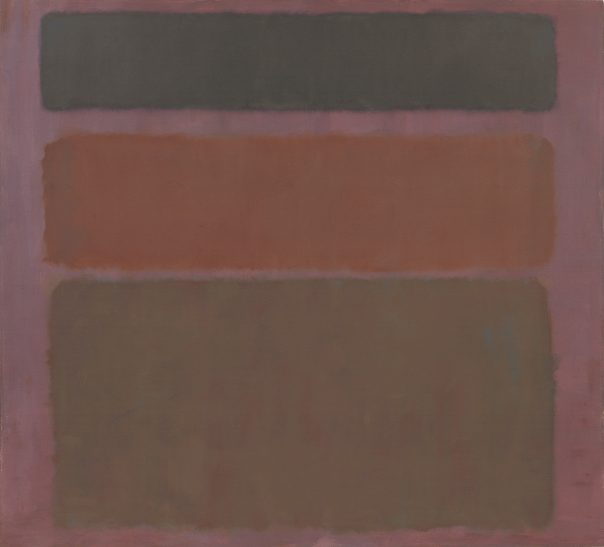 Mark Rothko. No. 16 (Red, Brown, and Black). 1958