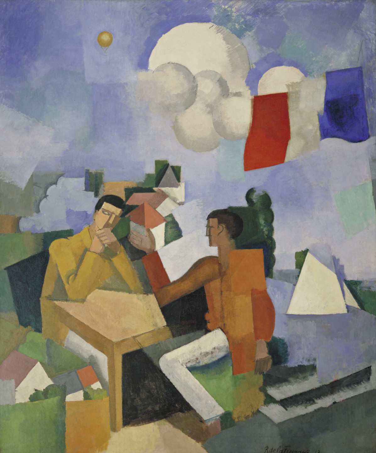 Roger de La Fresnaye. The Conquest of the Air. 1913