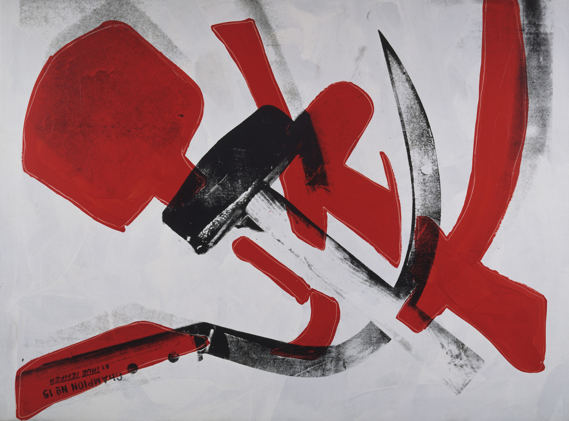 Andy Warhol. Hammer and Sickle. 1976