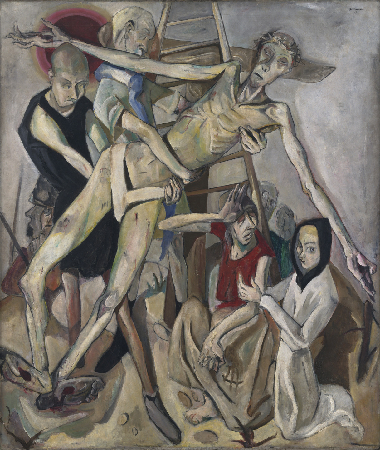 Max Beckmann. Descent from the Cross. 1917