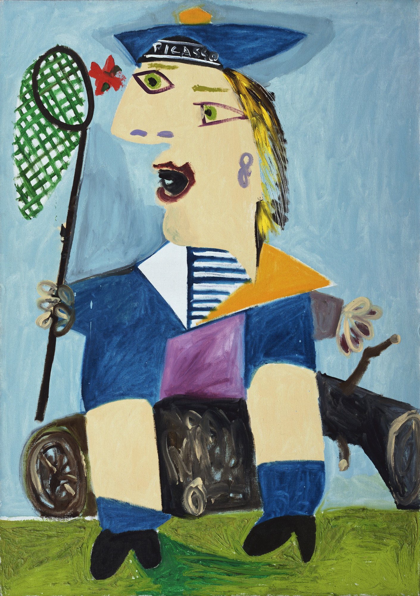 Pablo Picasso Maya In A Sailor Suit 1938 Moma