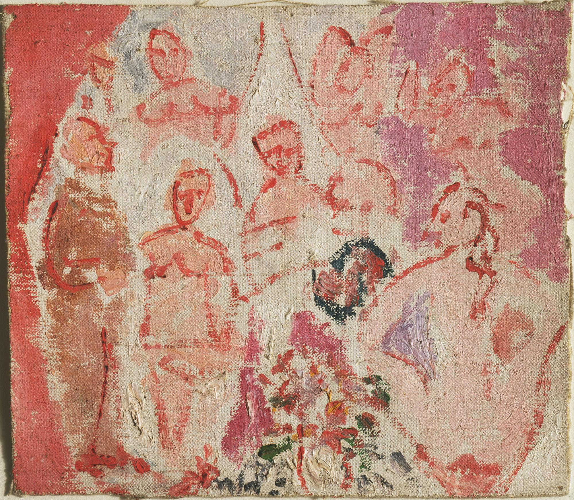 Pablo Picasso Study For Les Demoiselles D Avignon Paris Early 1907 Moma