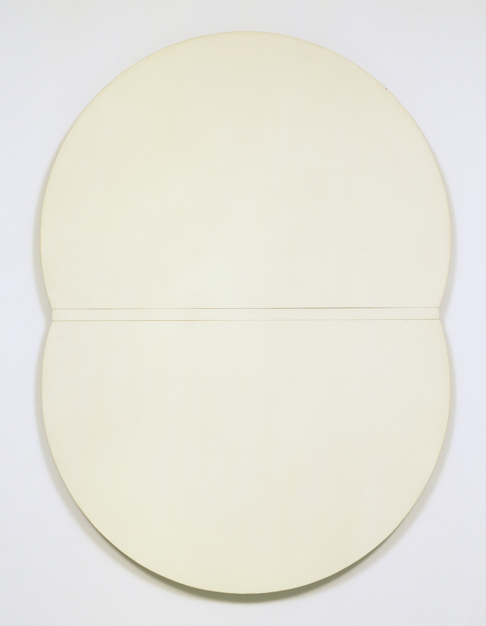 Ellsworth Kelly. White Plaque: Bridge Arch and Reflection. 1952-55