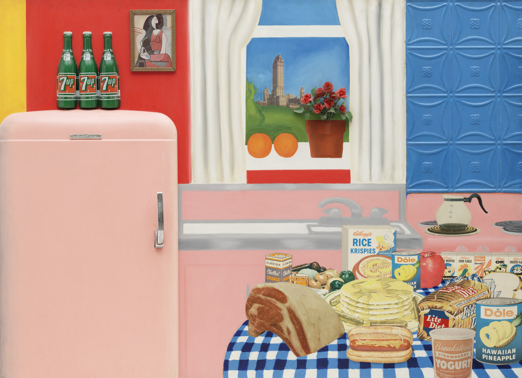 Tom Wesselmann. Still Life #30. April 1963