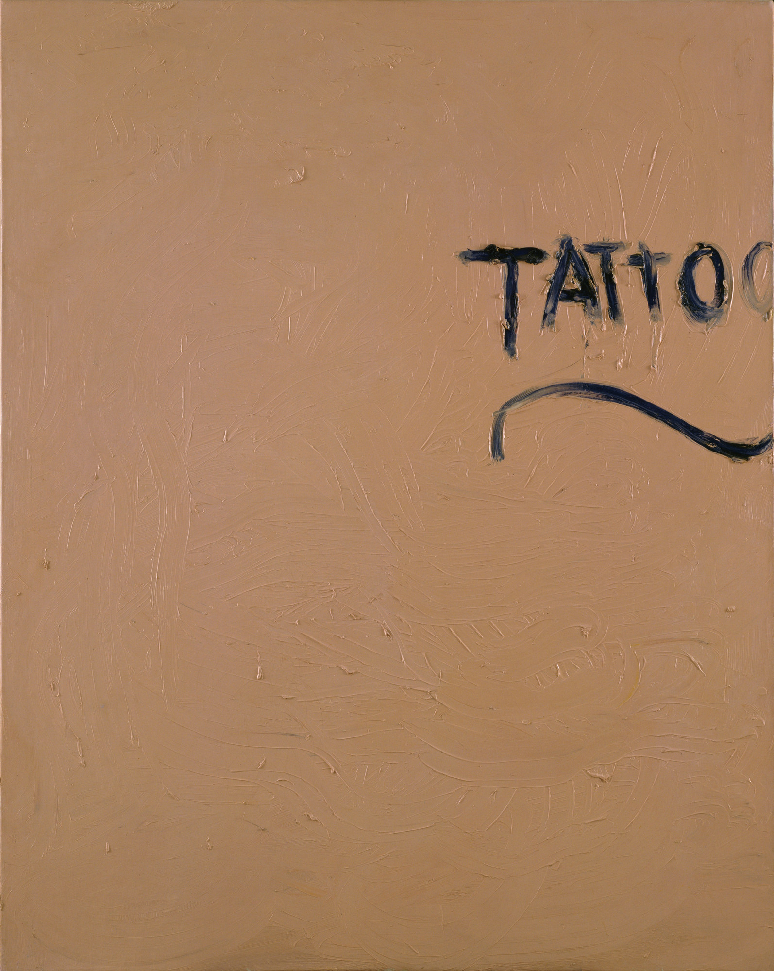 Jim Dine. Tattoo. 1961