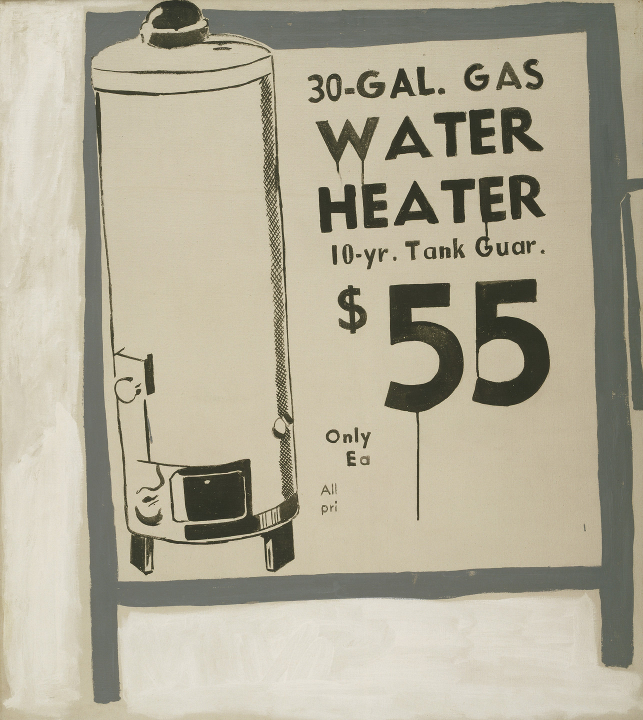 Andy Warhol. Water Heater. 1961