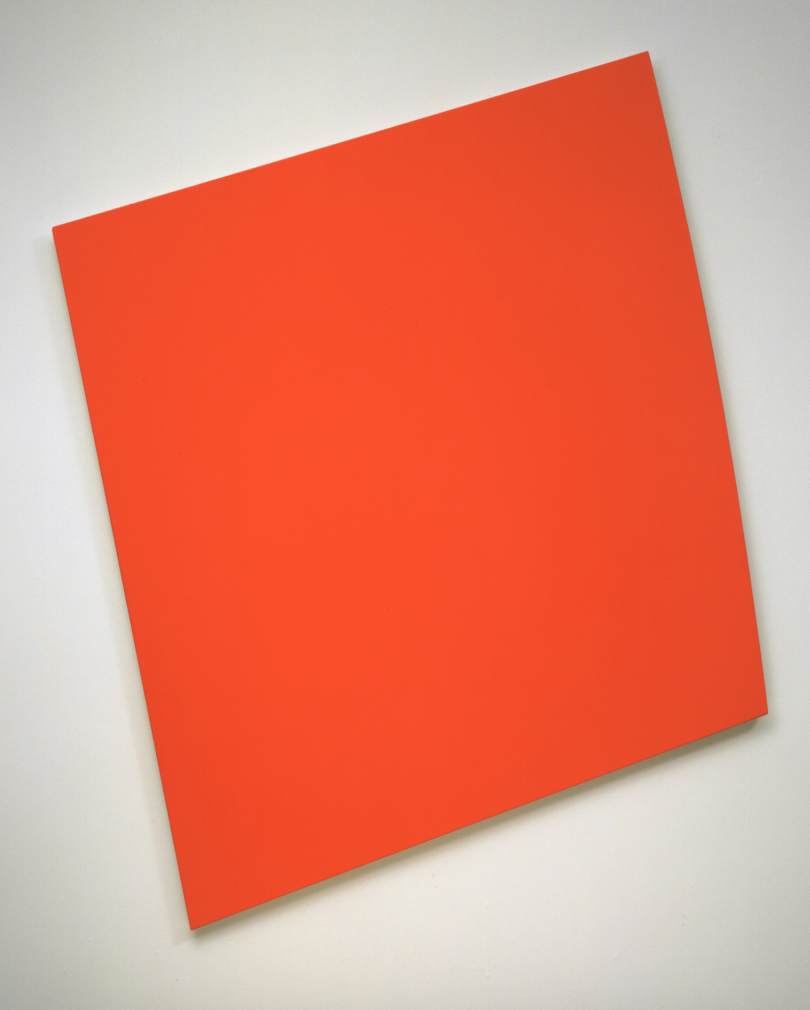 Ellsworth Kelly. Red-Orange Panel with Curve. 1993