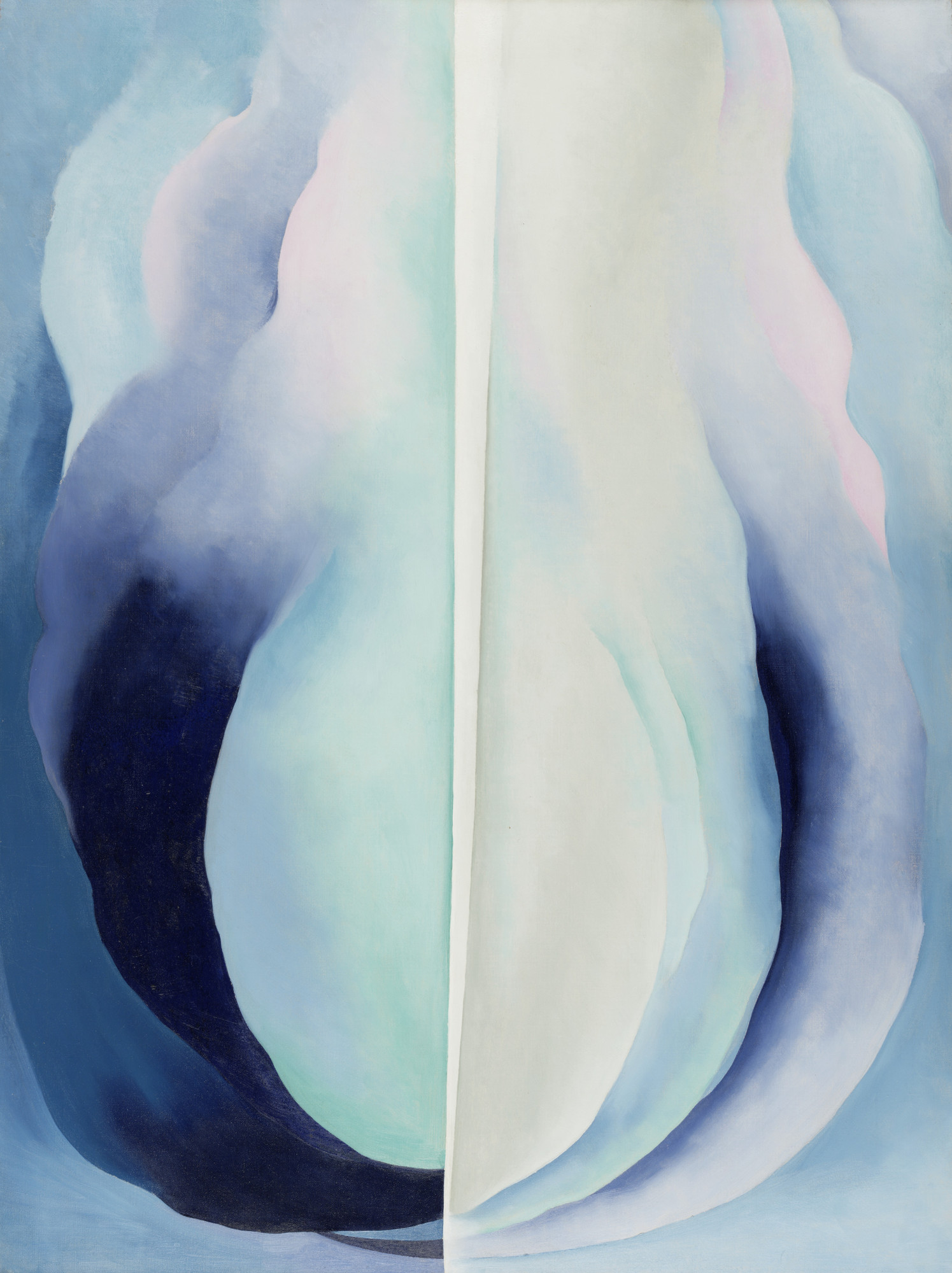 Georgia O'Keeffe. Abstraction Blue. 1927