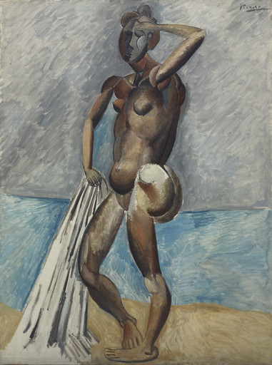 Pablo Picasso. Bather. winter 1908-09