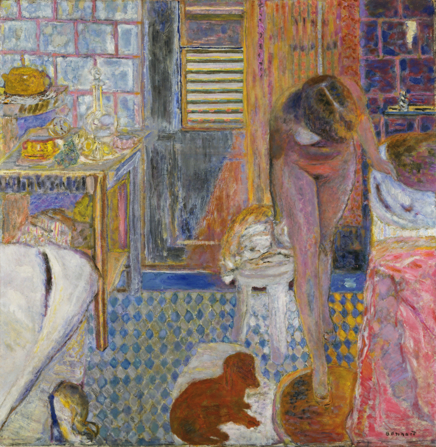 Pierre Bonnard. The Bathroom. 1932