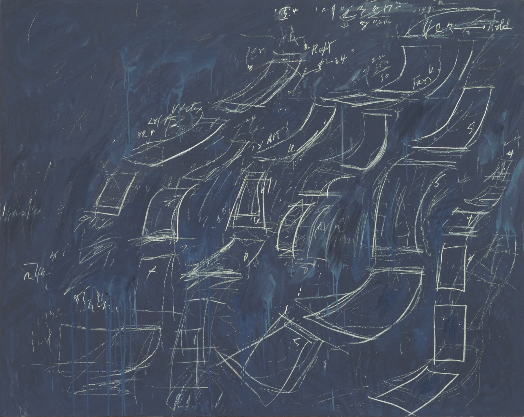 Cy Twombly. Untitled. 1968