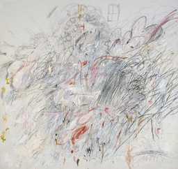 Cy Twombly. Leda and the Swan. Rome 1962