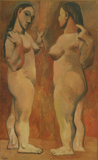 Pablo Picasso. Two Nudes. Paris, late 1906