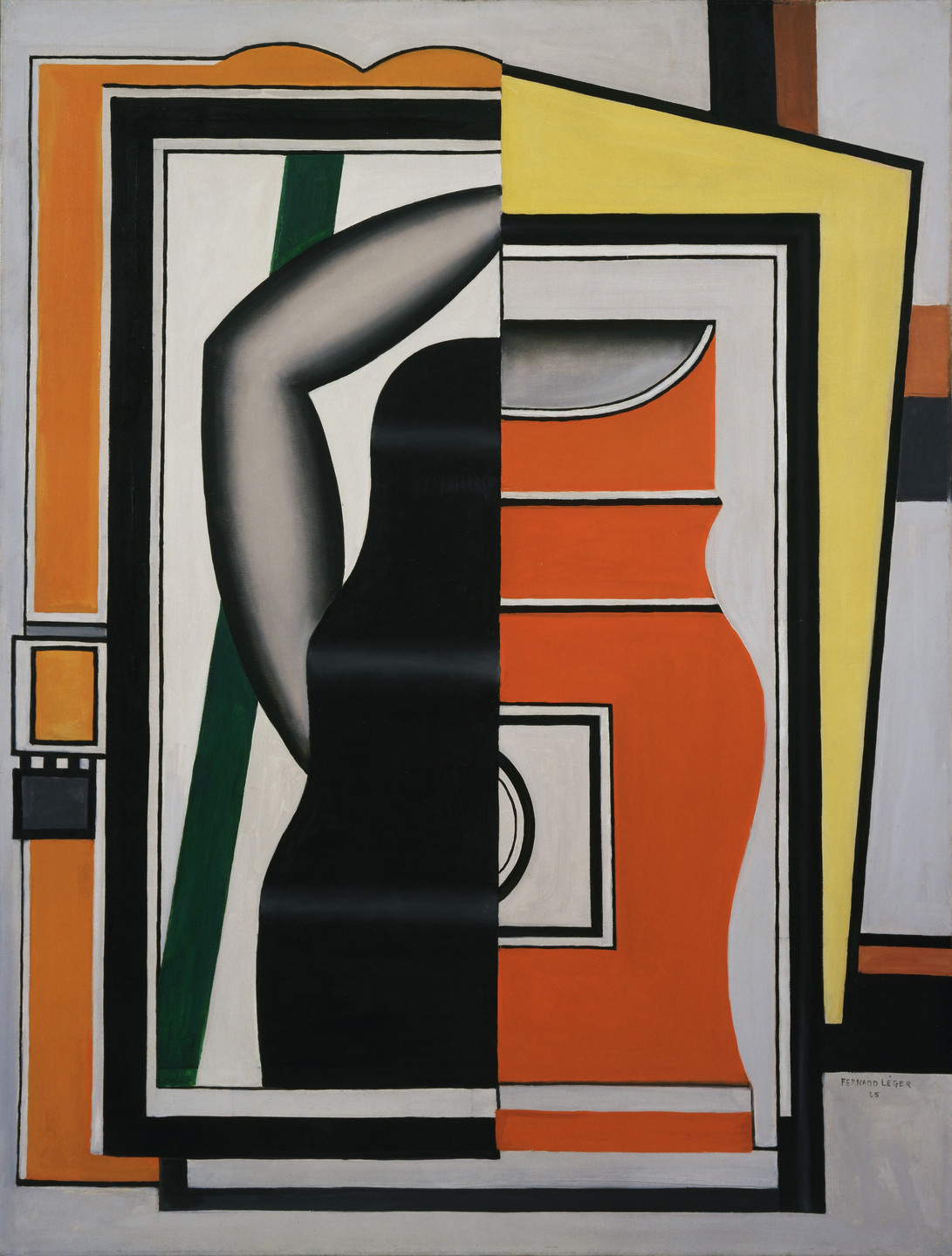 Fernand Léger. The Mirror. 1925