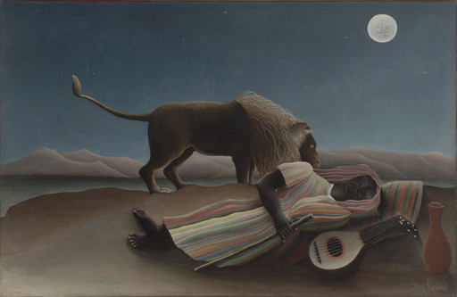 Henri Rousseau. The Sleeping Gypsy. 1897