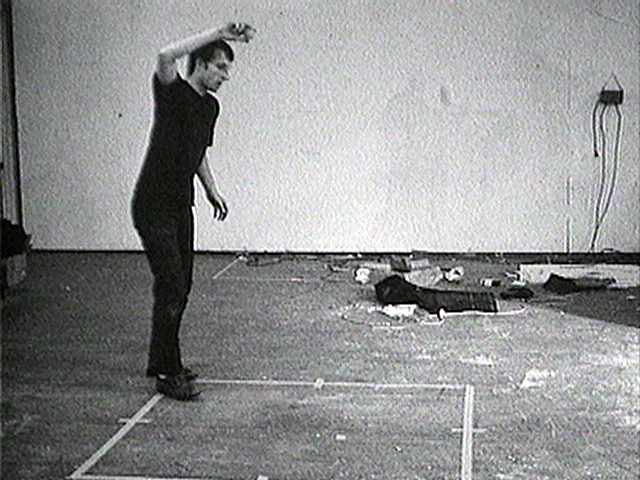 Bruce Nauman. Bouncing Two Balls Between the Floor and Ceiling with Changing Rhythms. 1967-1968
