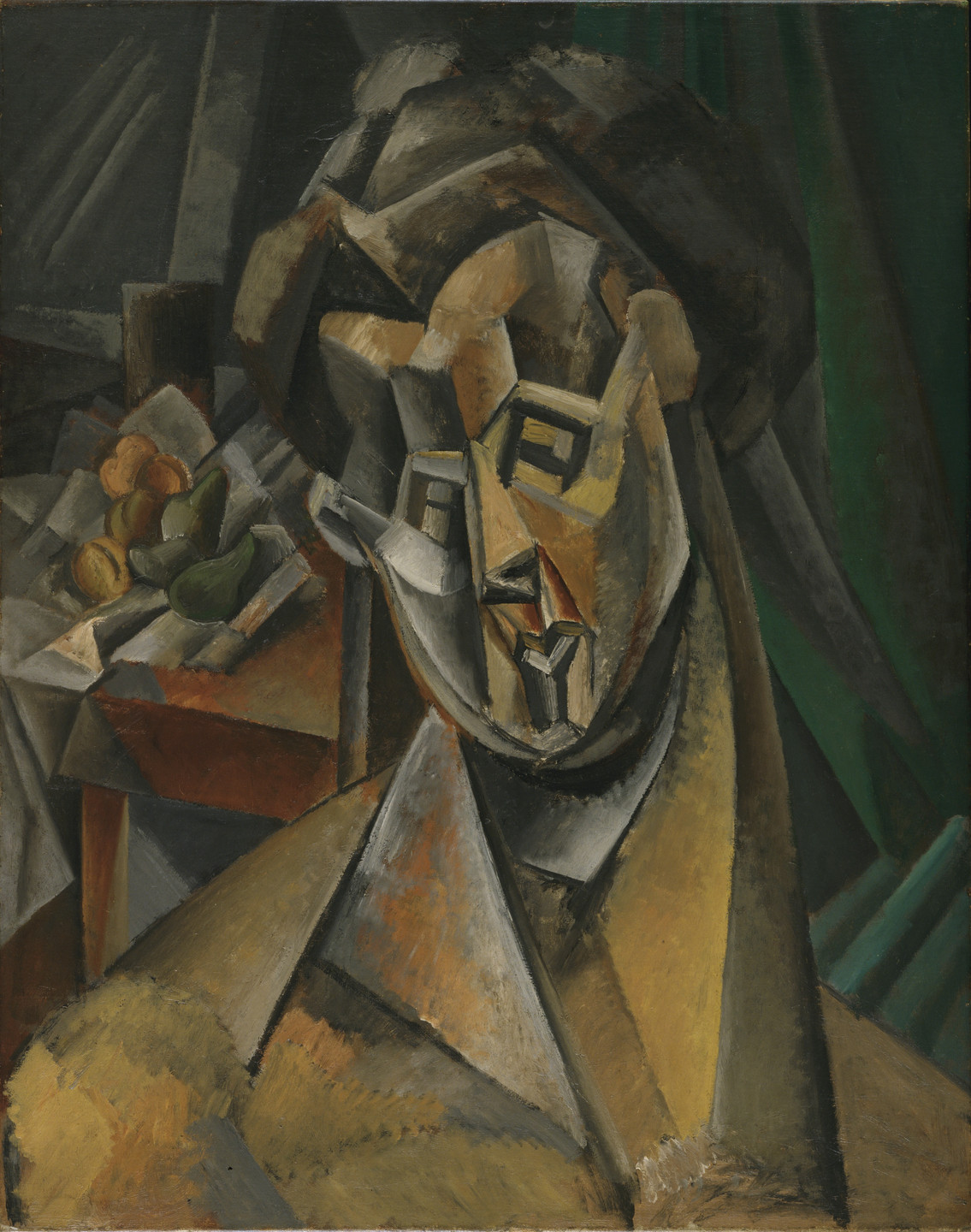 Pablo Picasso. Woman with Pears. Horta de San Joan, summer 1909